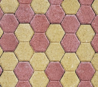 Paving slabs close up as a background